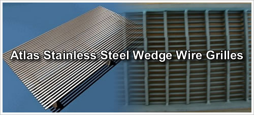 Brass Wire Grille : Wedge wire grilles architectural mesh decorative cladding